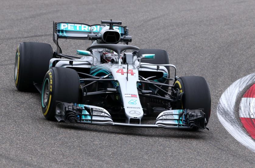 GP de China de F1 (FP1): Hamilton contra todos