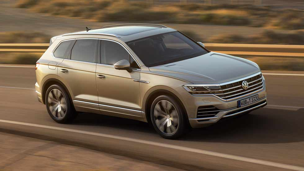 vw touareg 2018 precios para espa a del nuevo gran suv. Black Bedroom Furniture Sets. Home Design Ideas