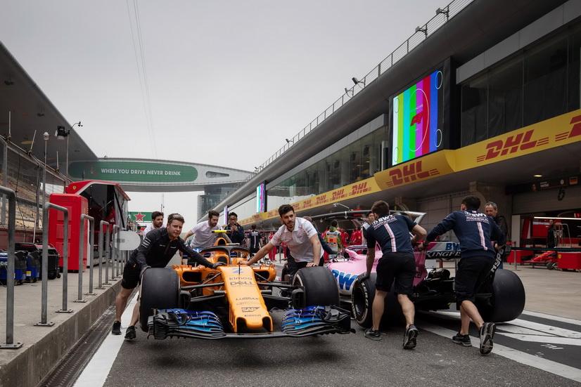 GP de China de F1: el equipo McLaren multado con 5.000 euros