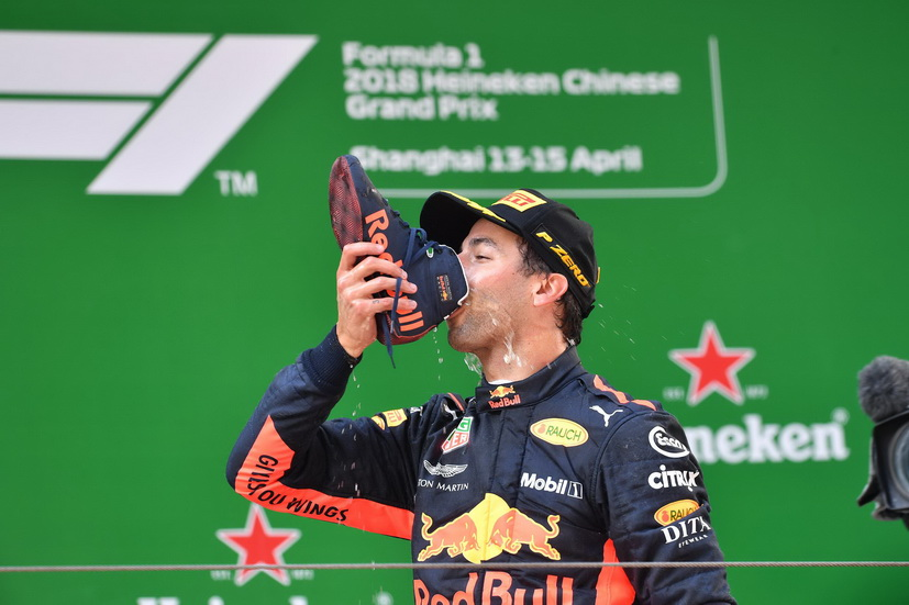 GP de China de F1: gran victoria de Ricciardo; Alonso, espectacular