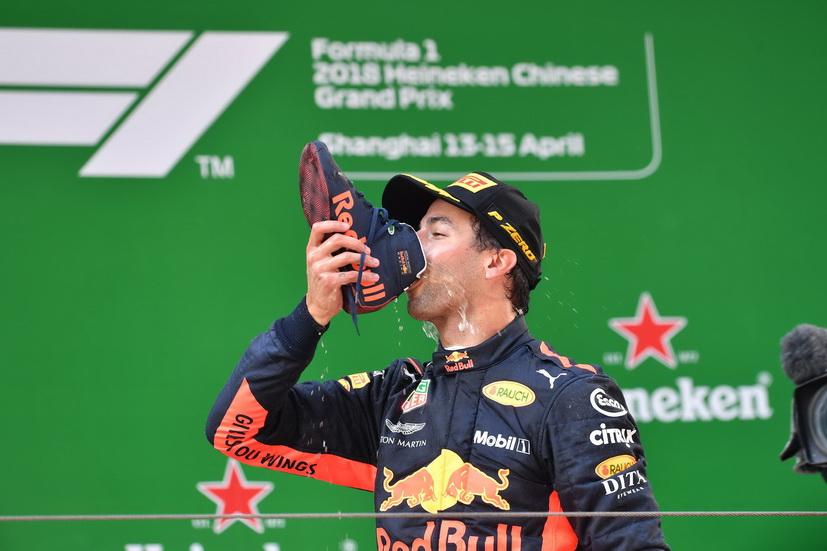 GP de China de F1: gran victoria de Ricciardo; Alonso, espectacular