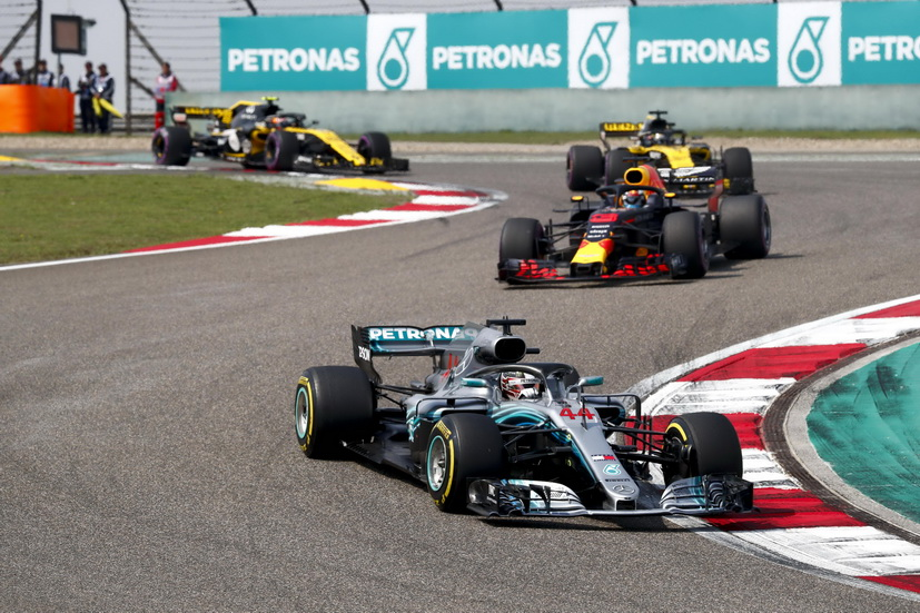 GP de China de F1: tres carreras disputadas y Hamilton no ha ganado todavía