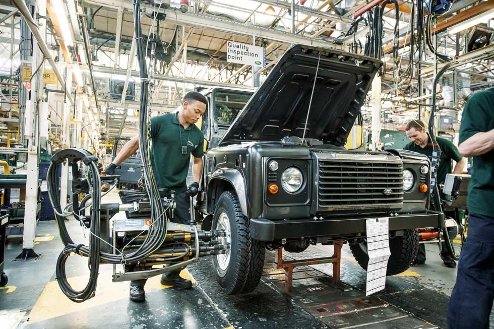 Jaguar-Land Rover recortará unos 1.000 empleos y producción por el Brexit