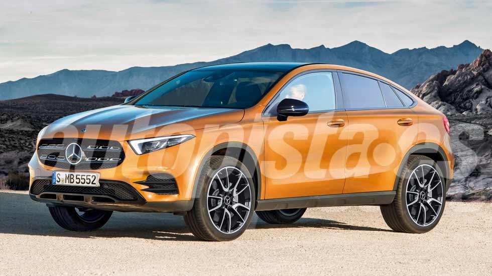 Mercedes GLA Coupé 2020: nuevos datos y fotos
