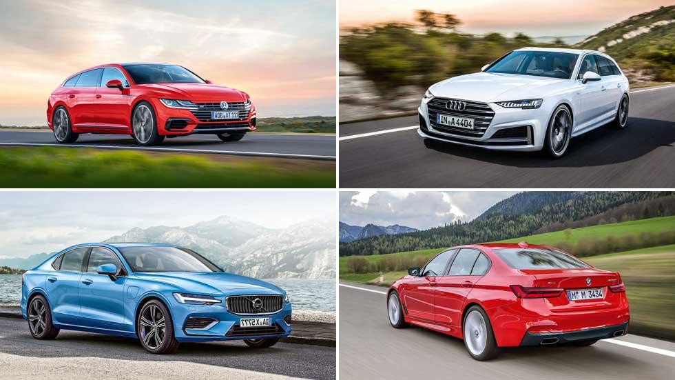 Revista Autopista 3050: así serán los nuevos VW Passat, BMW Serie 3, Audi A4…
