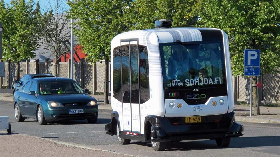 Microbuses eléctricos y autónomos, posible solución a la movilidad urbana