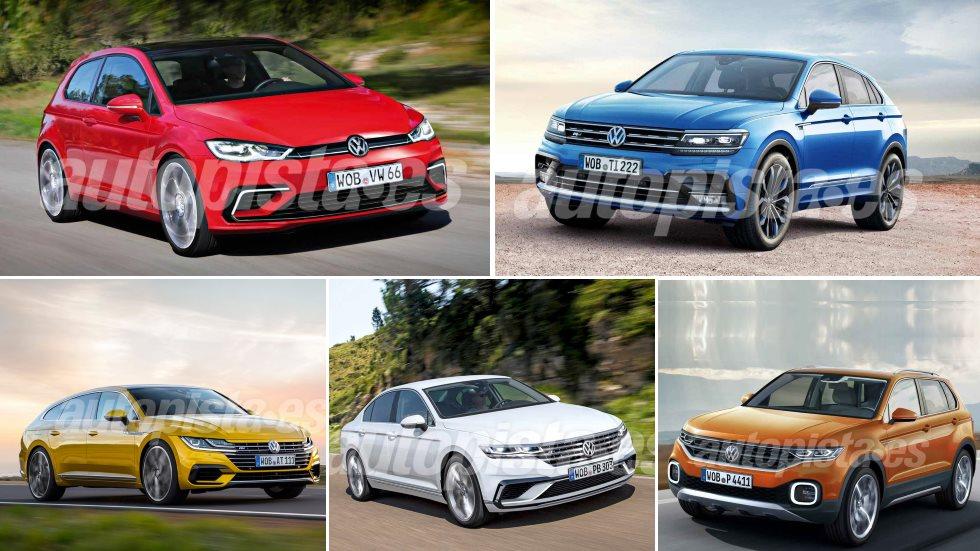 Todo lo nuevo de VW hasta 2024: Golf 8, Tiguan Coupé, Passat 2018, Arteon SB…