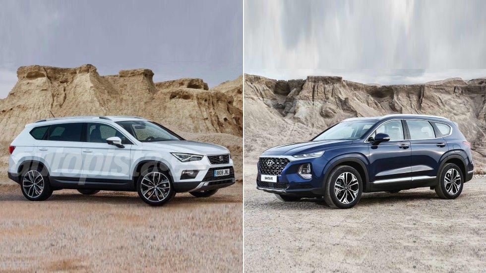 Seat Tarraco vs Hyundai Santa Fe: los nuevos grandes rivales SUV que vienen