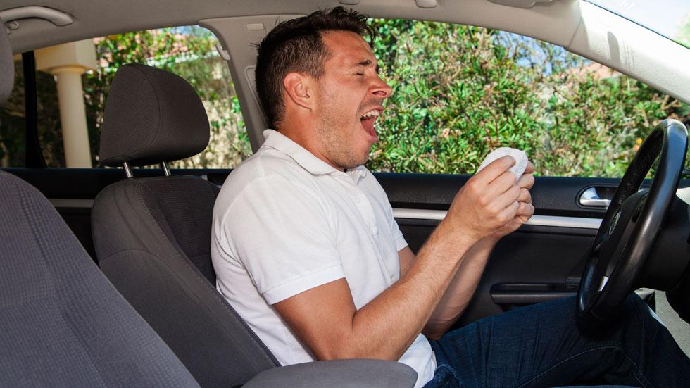 Los medicamentos para la alergia que pueden ser peligrosos al volante