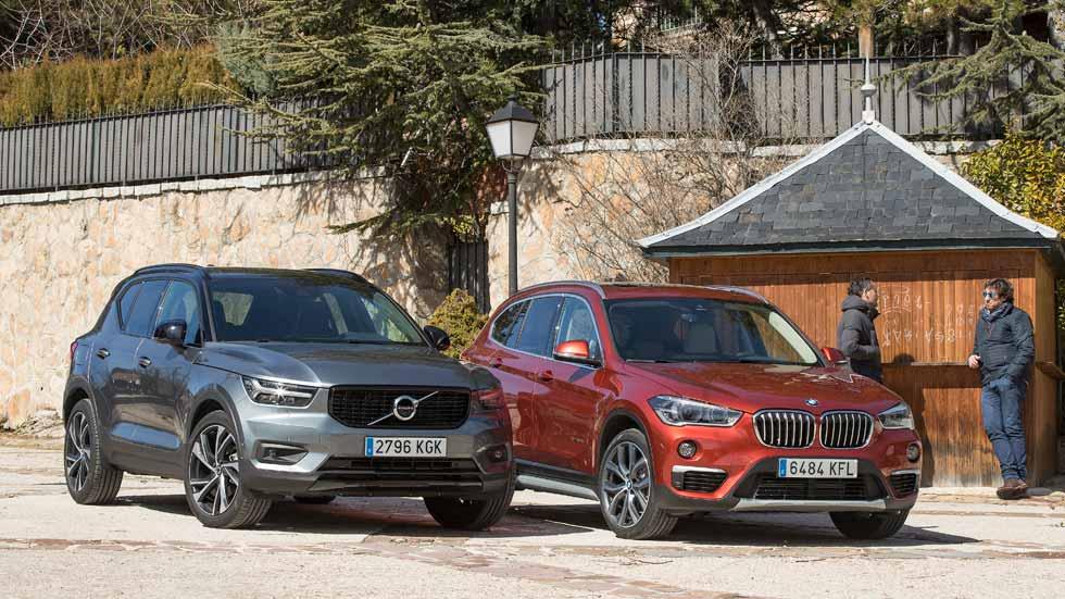 Volvo XC40 vs BMW X1: ¿qué SUV Diesel es mejor?