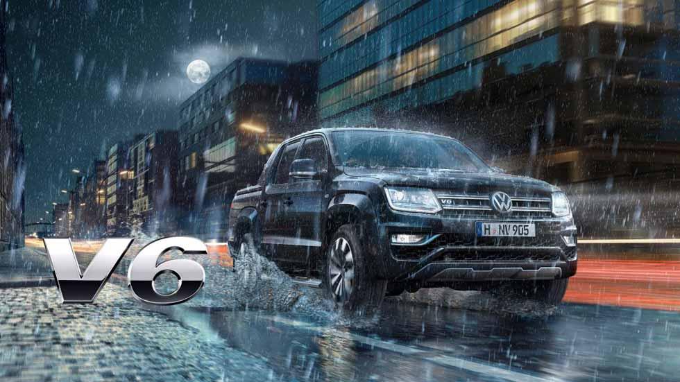 Volkswagen Amarok 2018: ahora, con un Diesel V6 de 258 CV