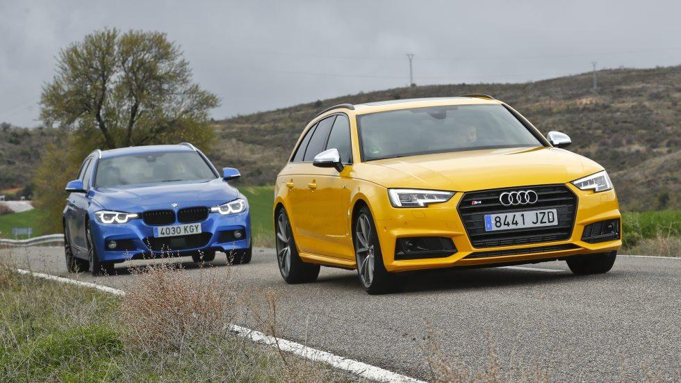 Comparativa: Audi S4 Avant vs BMW 340i Touring, ¿cuál es mejor?