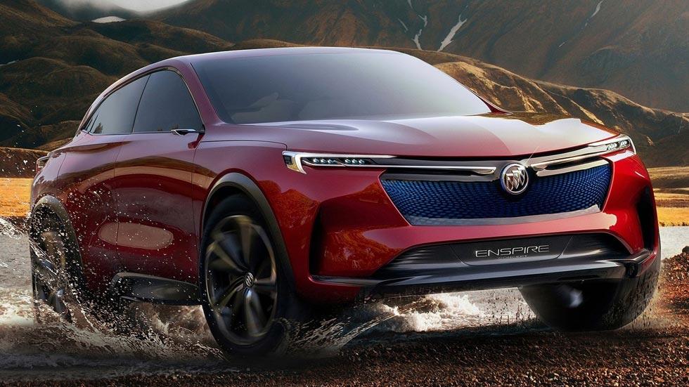 Buick Enspire Concept: el SUV eléctrico del futuro