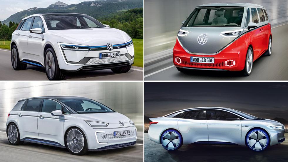 Todos los Volkswagen I.D. eléctricos que vienen