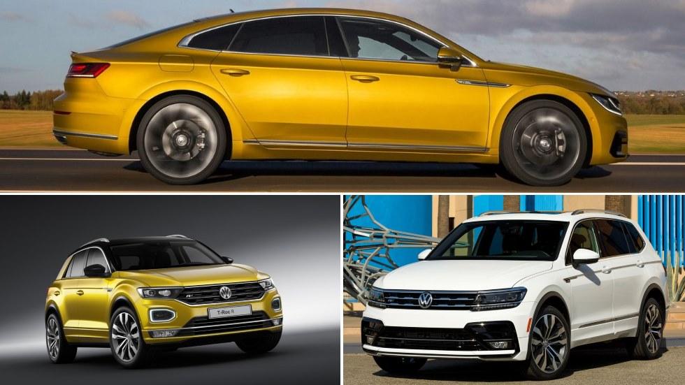 Volkswagen T-Roc R, Arteon R y Tiguan R: a la venta en 2018