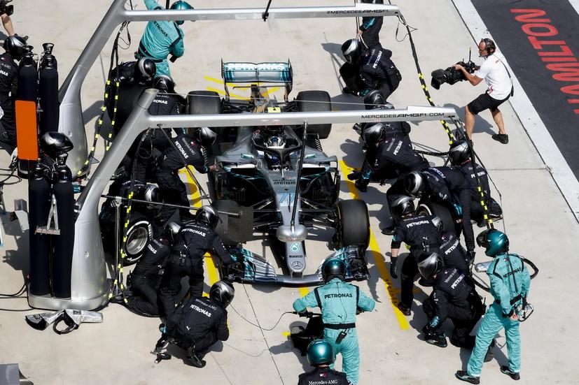 GP de China de F1: Mercedes realizó el pit stop más rápido de la nueva era de la F1