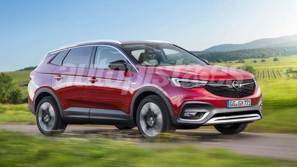 Opel SUV grande: llegará en 2020 con la base de Peugeot 3008 y 5008