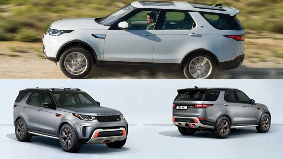 Land Rover lanzará 3 SUV más pequeños: nuevos baby Range, Defender y Discovery Sport
