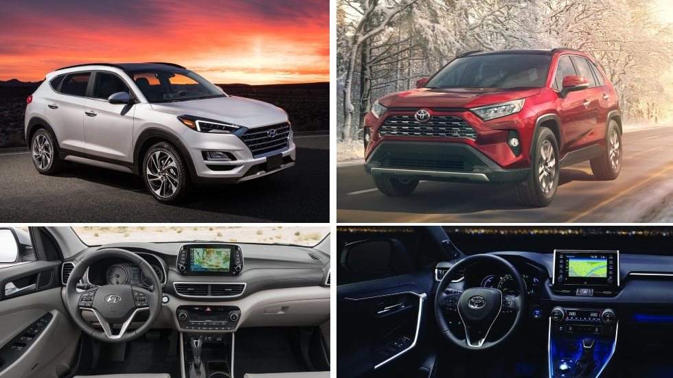 Hyundai Tucson 2018 vs Toyota RAV4 2019: los nuevos SUV que vienen