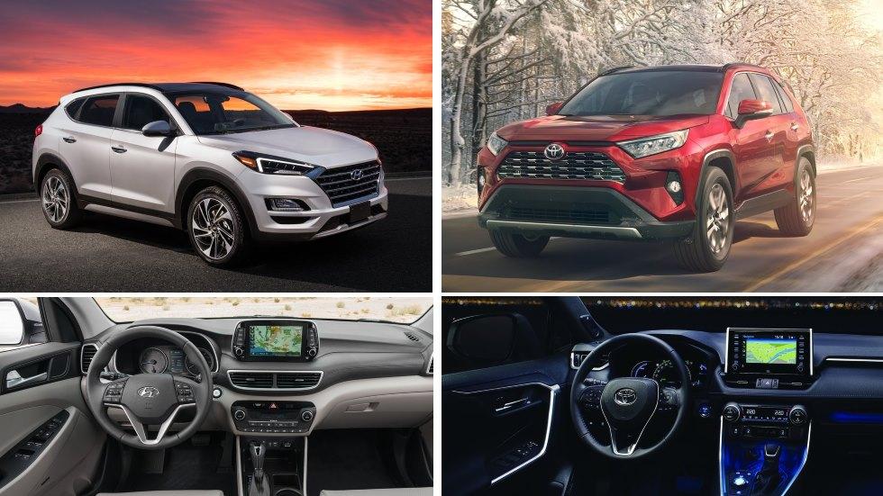 Hyundai Tucson 2018 Vs Toyota Rav4 2019 Los Nuevos Suv