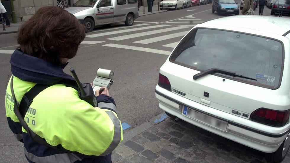 Radiografía de las multas en Madrid: la mitad, por mal estacionamiento