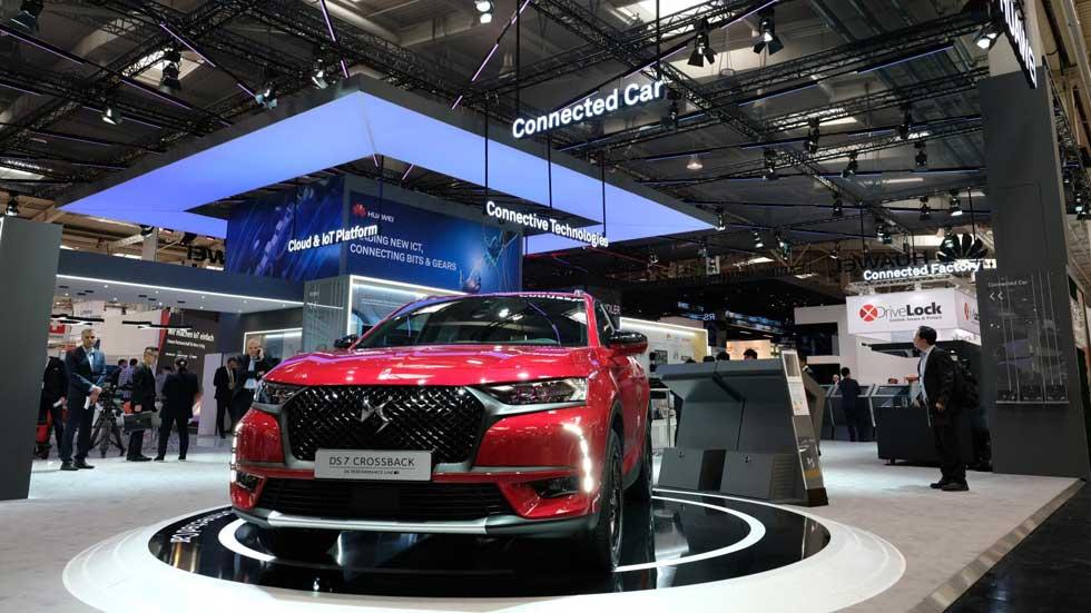 PSA y Huawei, unidos por el coche conectado: así es su primer SUV