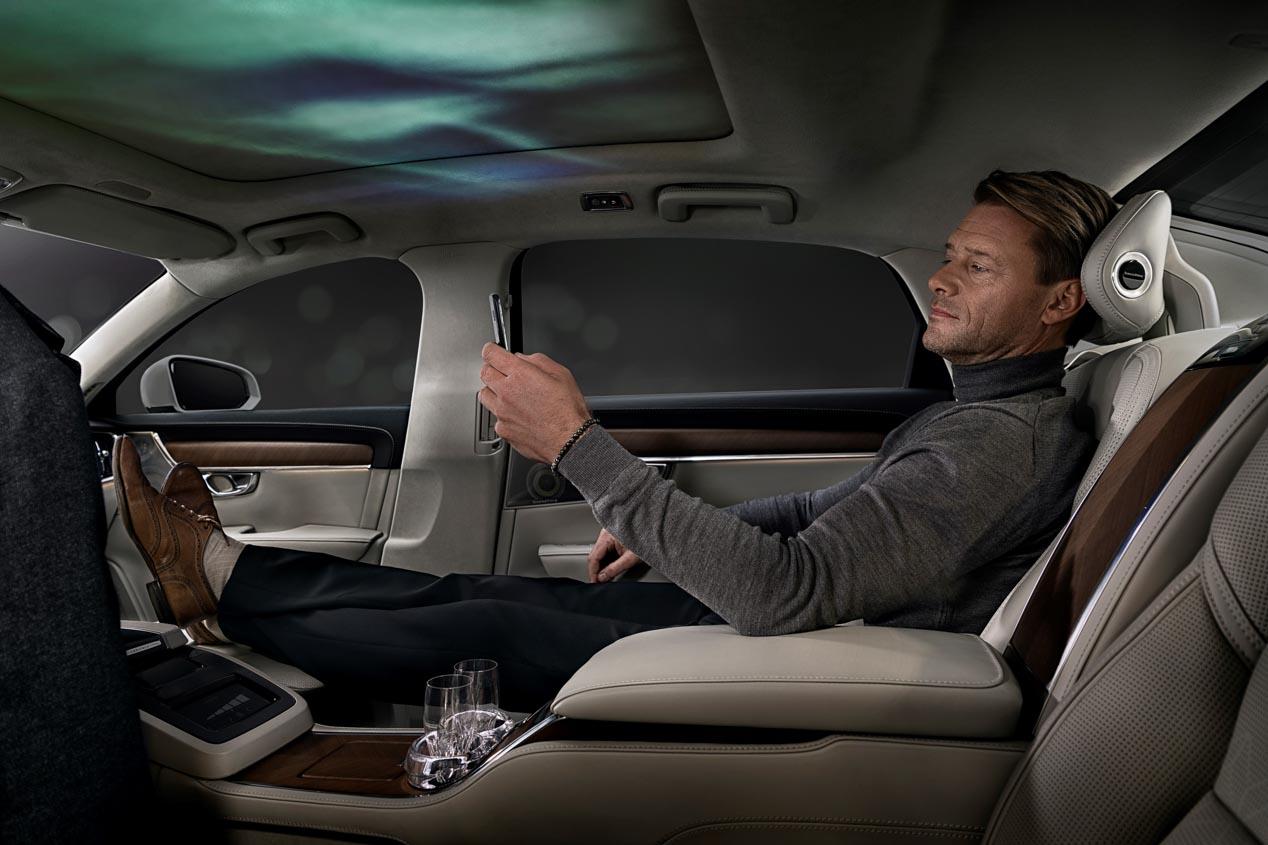 Volvo S90 Excellence Ambience Concept: el coche que conecta con tus sentidos