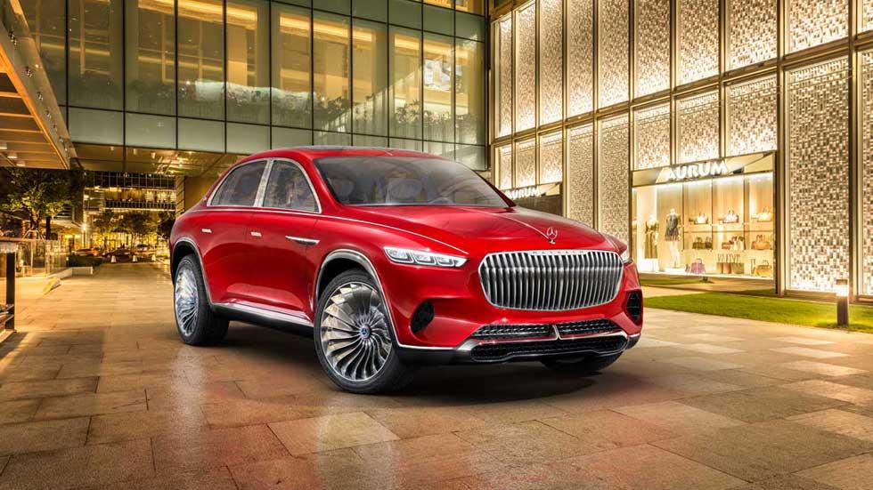 Vision Mercedes-Maybach Ultimate Luxury: el SUV nunca visto (VÍDEO)