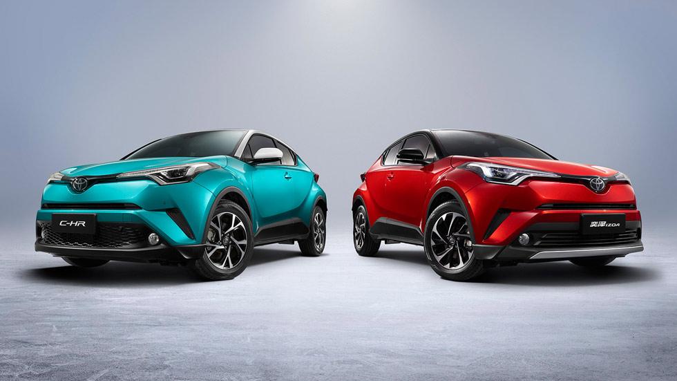Toyota presenta un C-HR eléctrico y un Auris híbrido enchufable