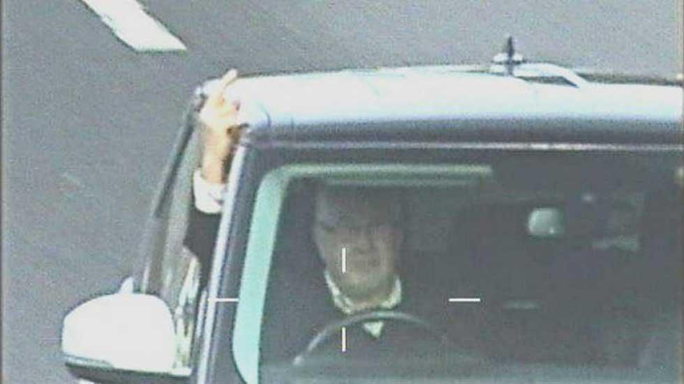 Cárcel por llevar un inhibidor y hacer peinetas a radares de tráfico