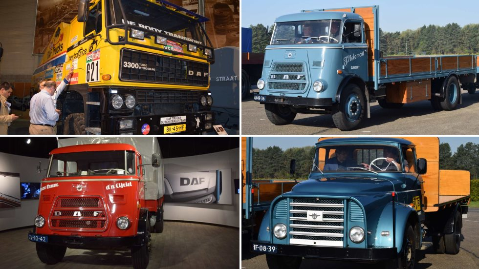 DAF cumple 90 años fabricando camiones: su historia (1928-2018)