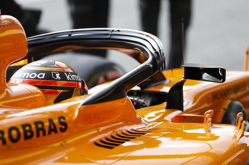 La FIA permite a los monoplazas de F1 montar los retrovisores en el halo