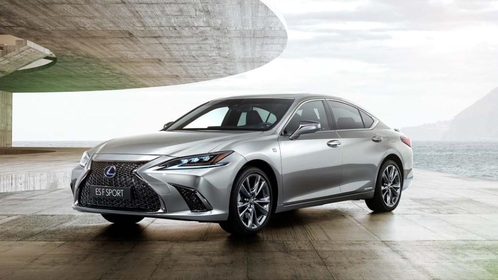 Lexus ES 2019: todos los datos de la berlina que llega por 1ª vez a España