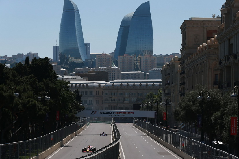 GP de Azerbaiyán de F1: los números de este fin de semana