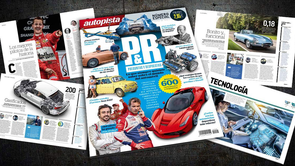 AUTOPISTA PREGUNTAS Y RESPUESTAS: más de 600 curiosidades sobre el mundo del automóvil