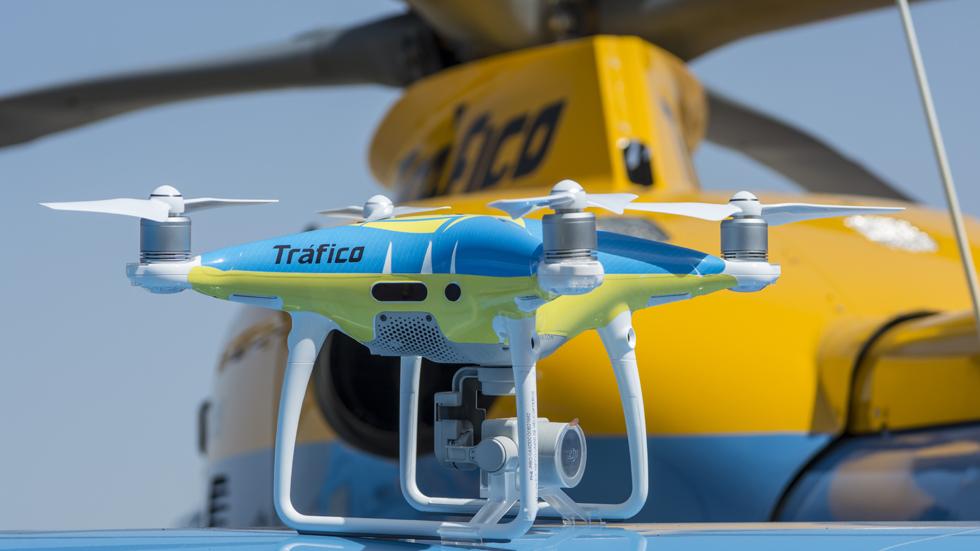 Alerta: la DGT estrenará drones para controlar el tráfico en este puente