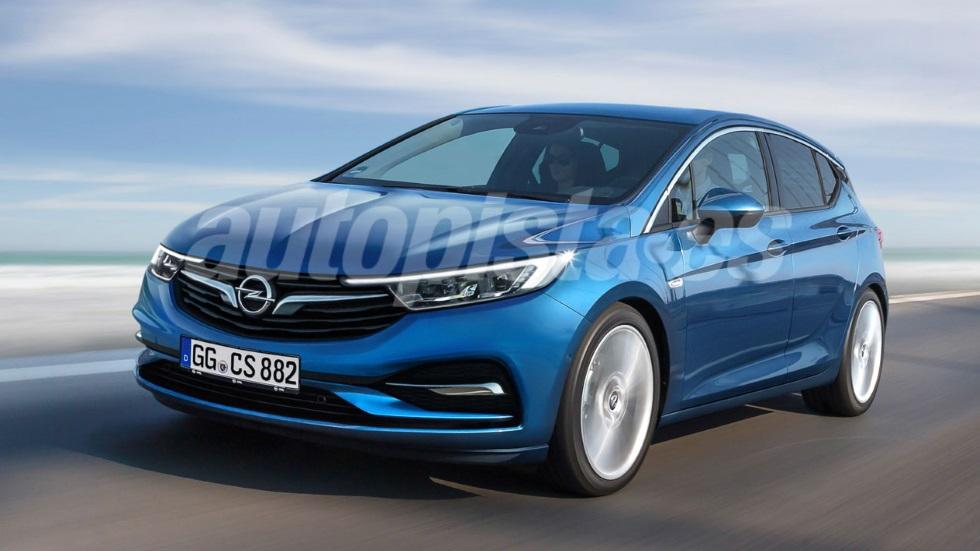 Opel Astra 2019: así será el nuevo compacto