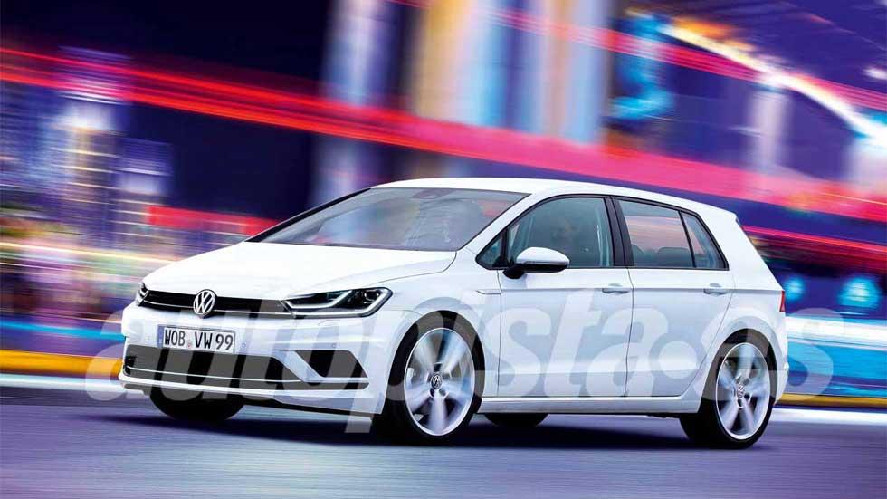 VW Golf 2019: con nueva versión híbrida de 48V