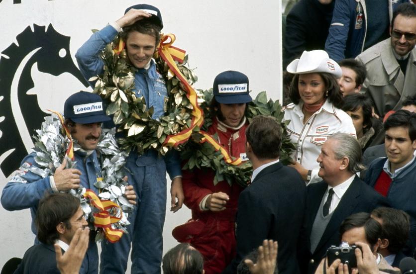 44 años de la primera victoria de Lauda