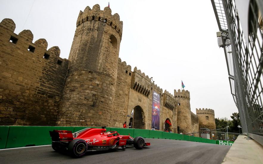 GP de Azerbaiyán de F1 (Q): tercera pole consecutiva para Sebastian Vettel