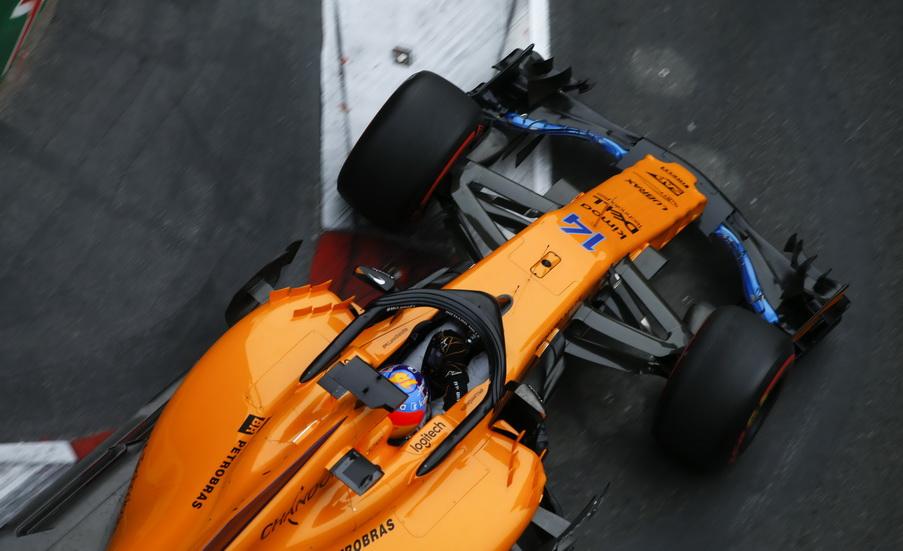"""GP de Azerbaiyán de F1 (Q): según Alonso, """"los puntos son posibles"""""""