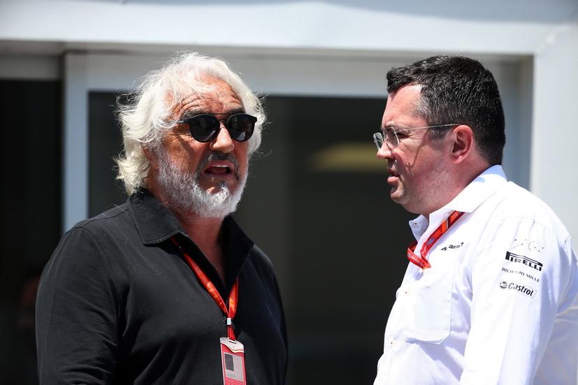 GP de Azerbaiyán de F1: Flavio Briatore, muy duro con McLaren