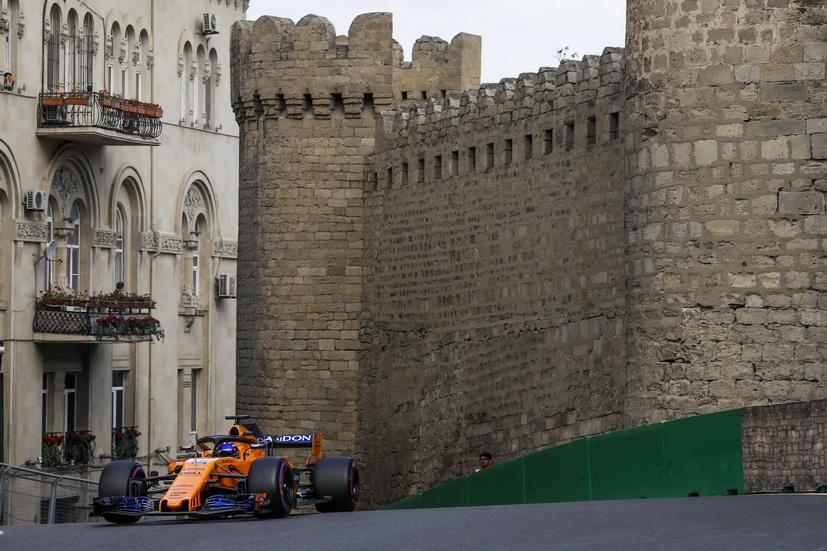 """GP de Azerbaiyán de F1: """"la mejor carrera de mi vida"""" para Alonso"""