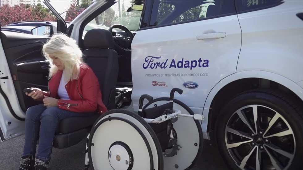 Ford presenta una silla de ruedas autónoma que se guarda sola (vídeo)
