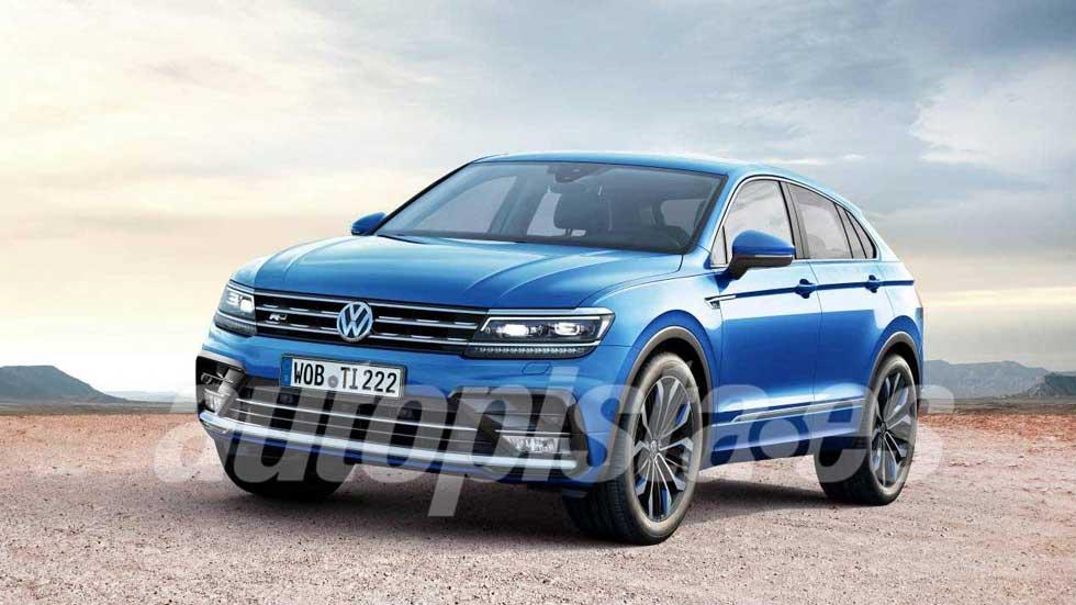 VW Tiguan Coupé 2019, más datos y fotos del nuevo SUV deportivo