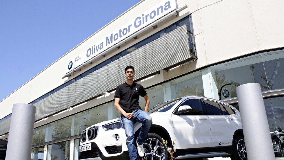 El doble medallista olímpico Joel González estrena un BMW X1: así es…