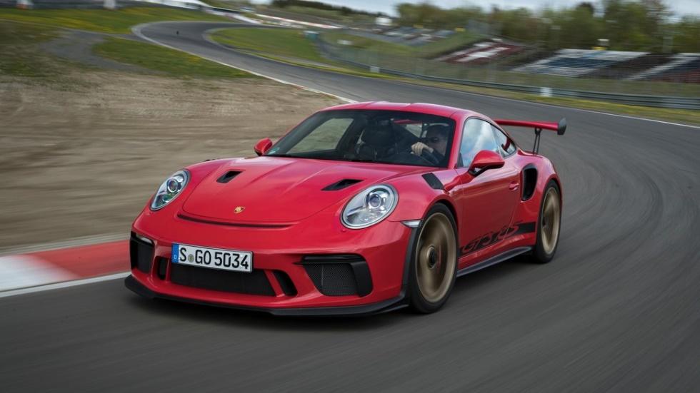 A prueba el nuevo Porsche 911 GT3 RS, espectacularmente rápido