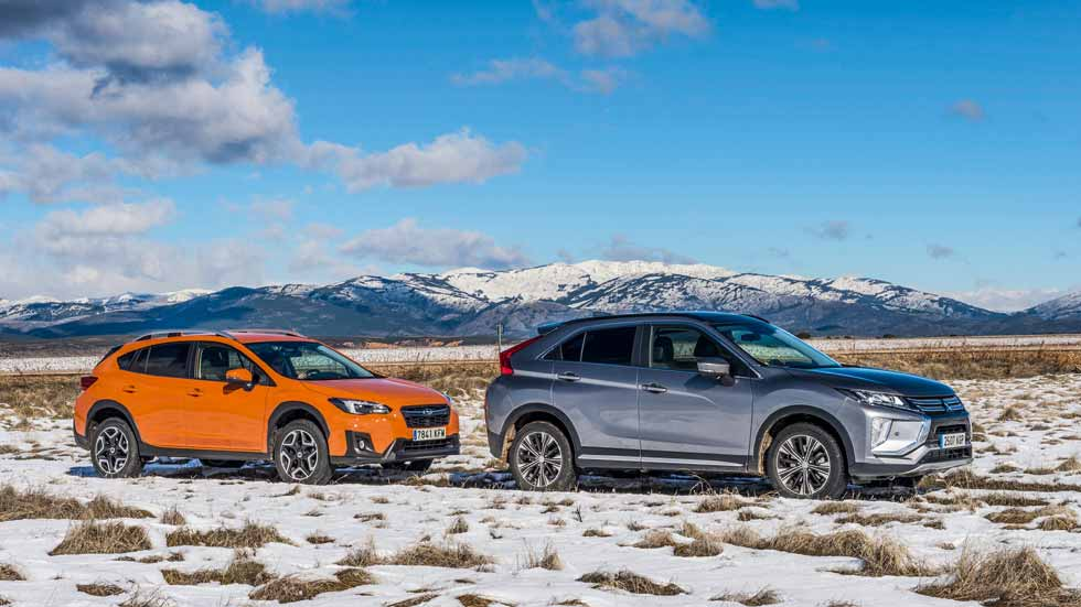 Duelo SUV de gasolina: Mitsubishi Eclipse Cross vs Subaru XV