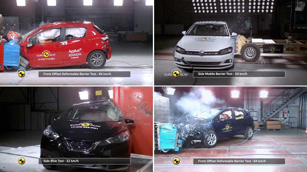Los 10 coches con 5 estrellas Euro NCAP por menos de 15.000 euros