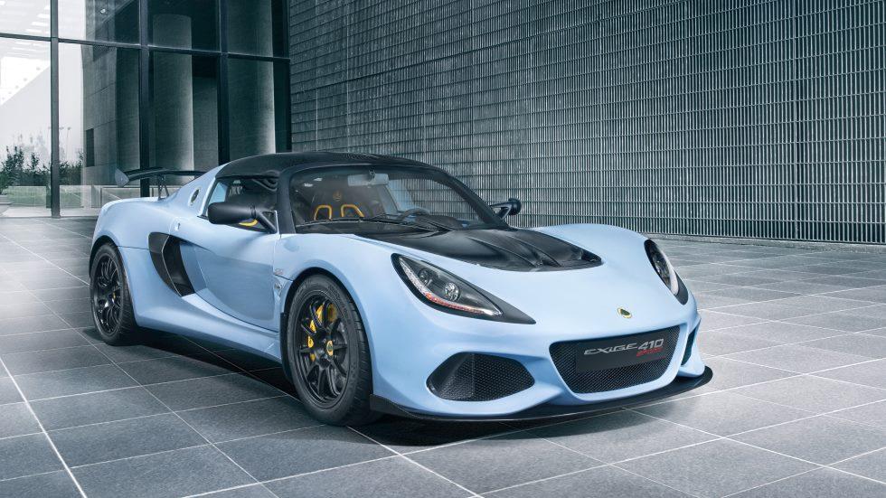 Lotus Exige Sport 410: de la pista a la calle